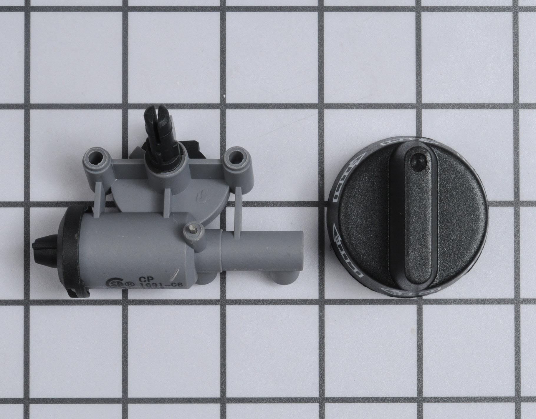 12001296 Magic Chef Range Stove Oven Part -Control Knob