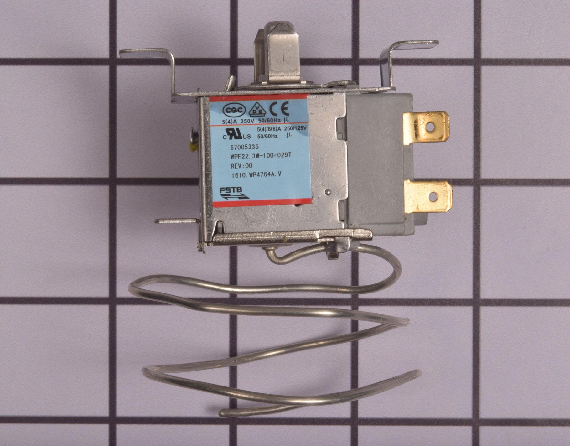 WP67005335 Crosley Refrigerator Part -Temperature Control Thermostat