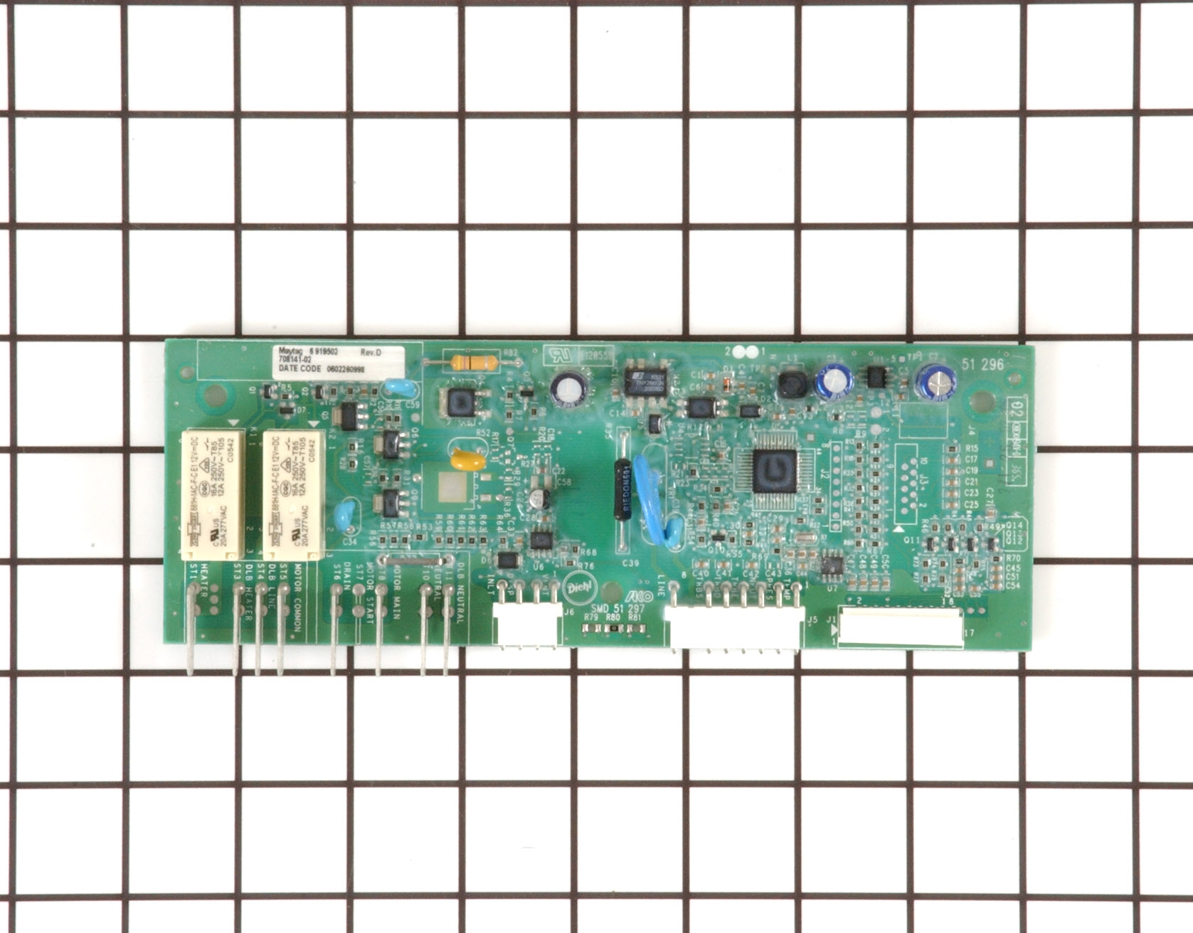 12002709 Samsung Dishwasher Part -Main Control Board