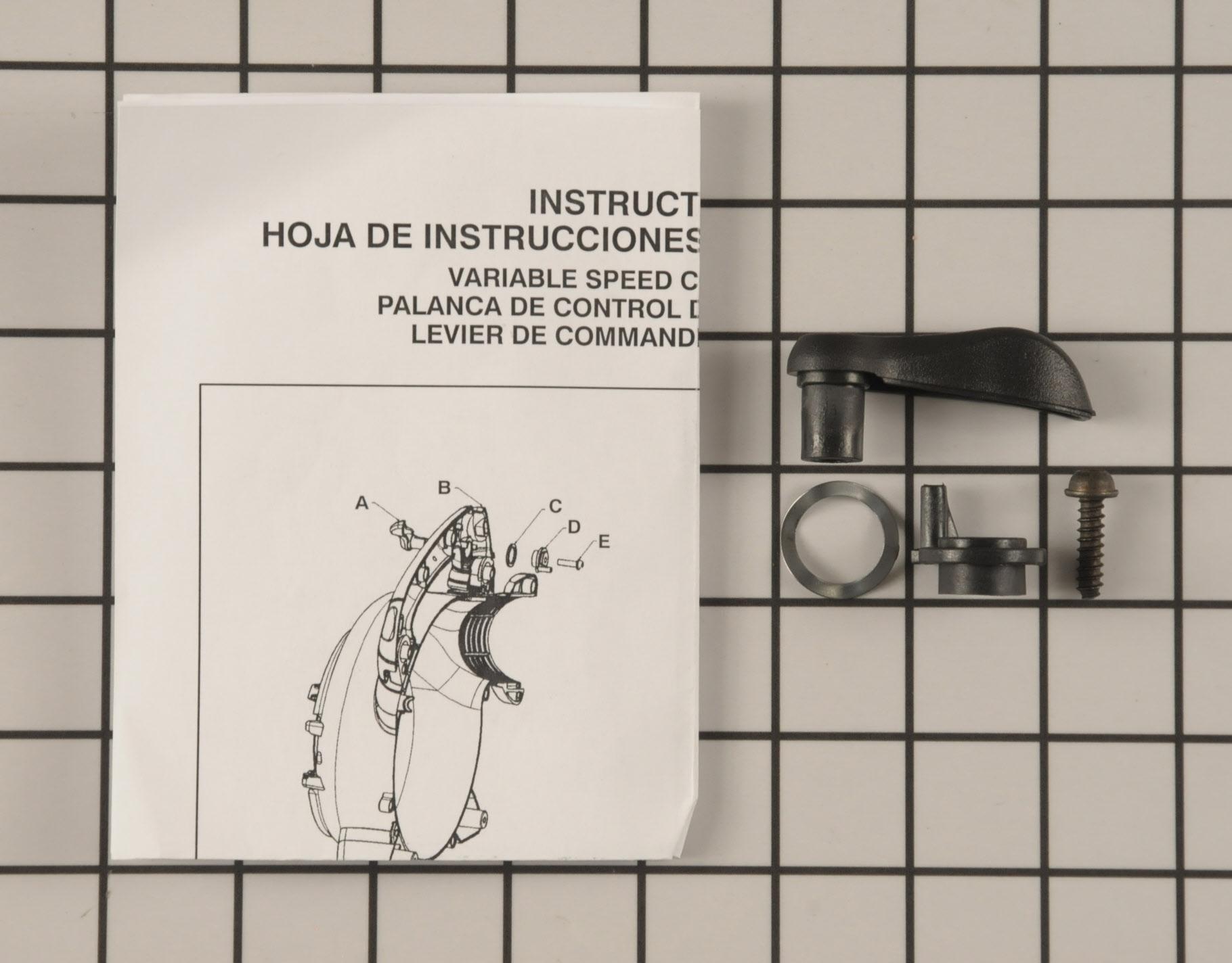 545081867 Poulan Pro Leaf Blower Part -Throttle Control