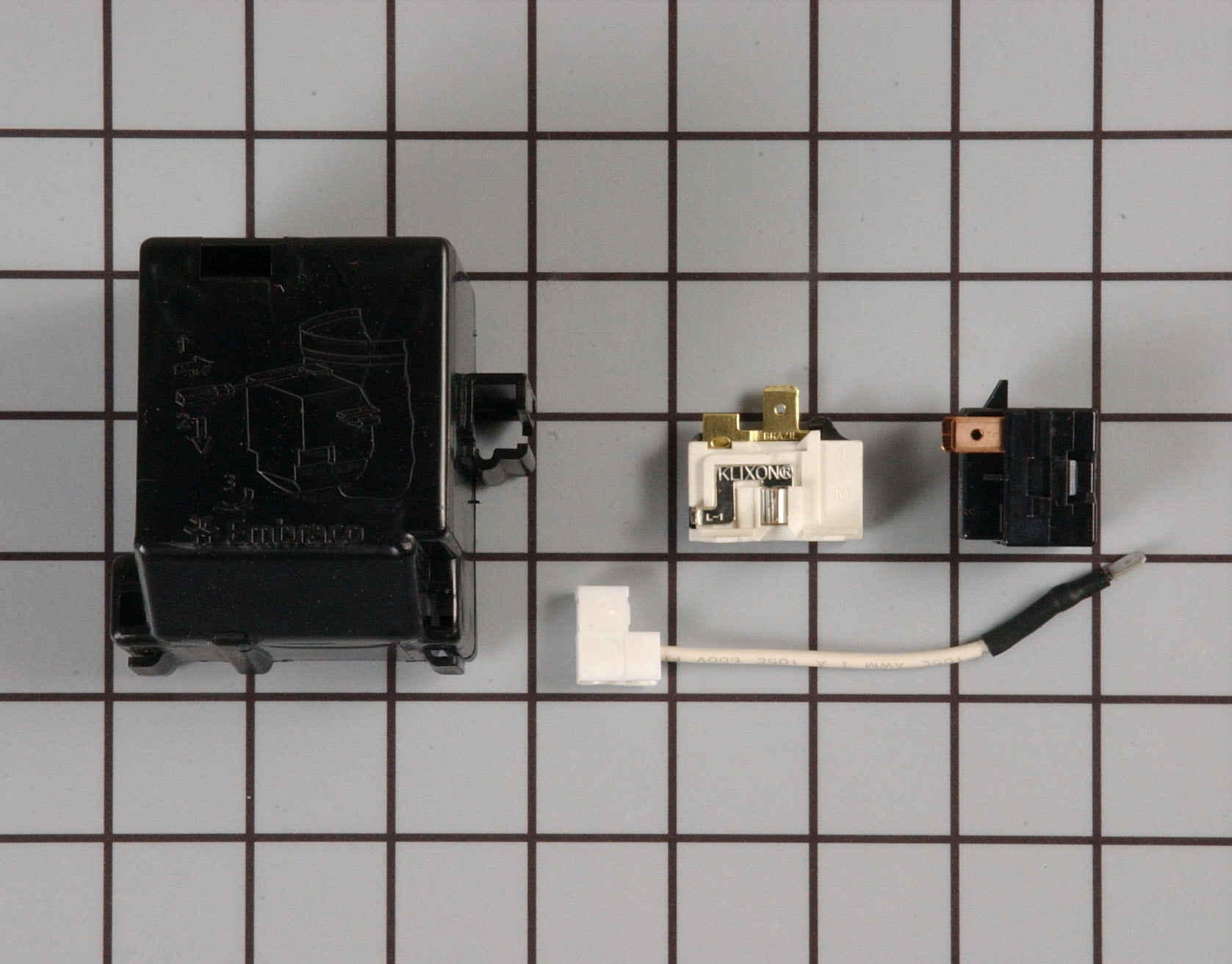 12002784 Crosley Refrigerator Part -Relay and Overload Kit