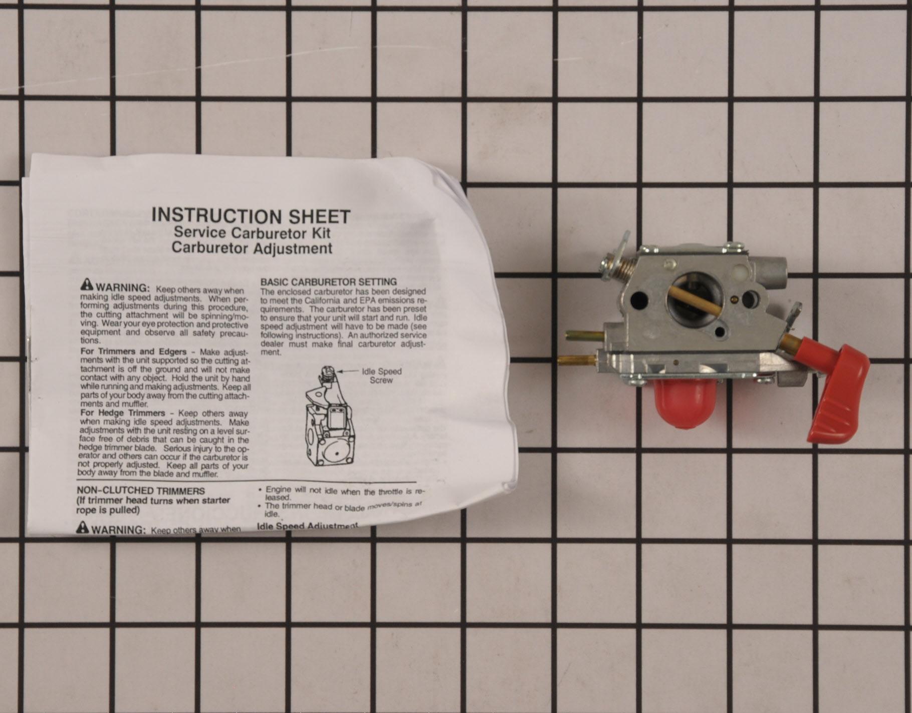 545081857 Craftsman Leaf Blower Part -Carburetor
