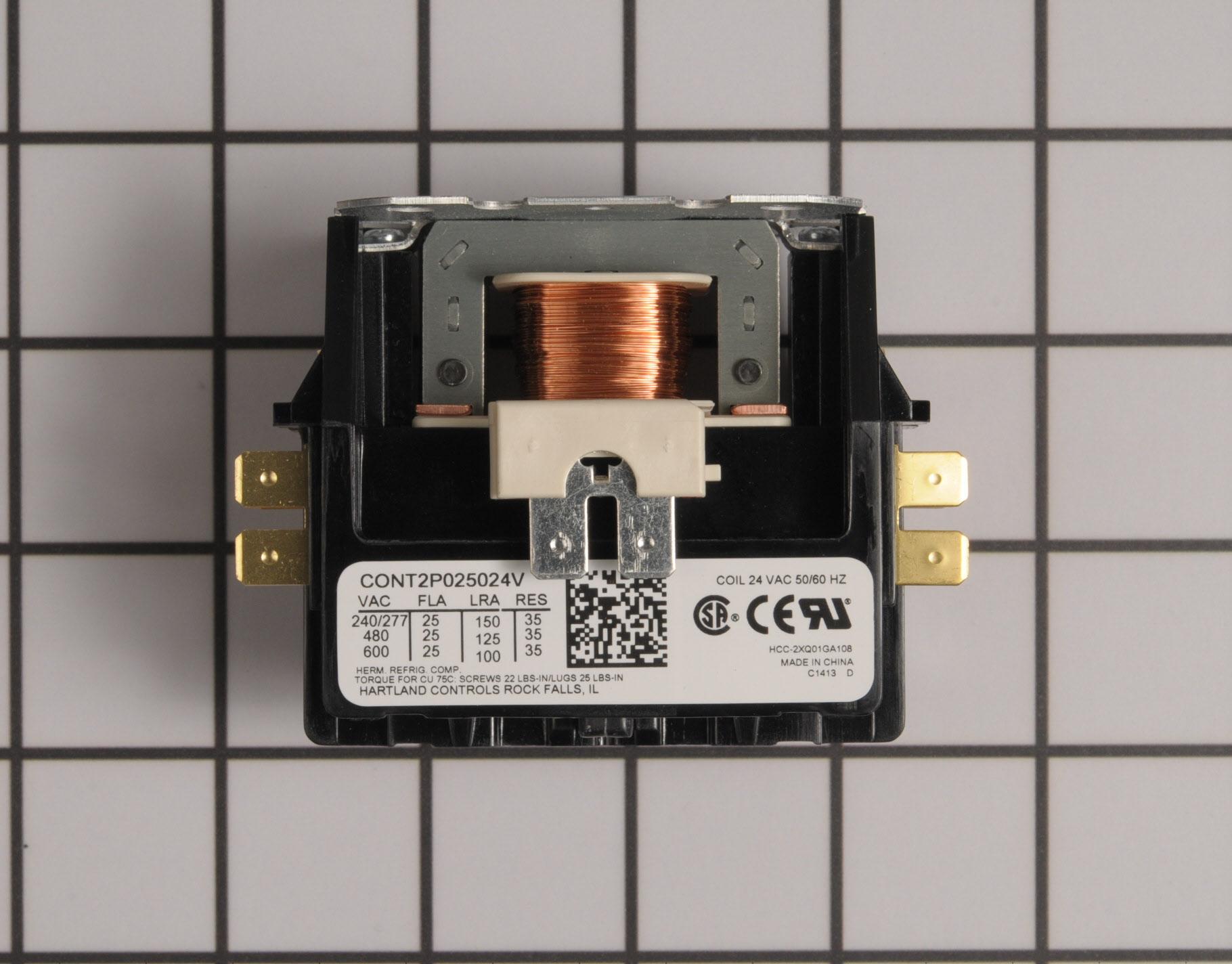 CONT2P025024VS Amana Air Handler Part -Contactor