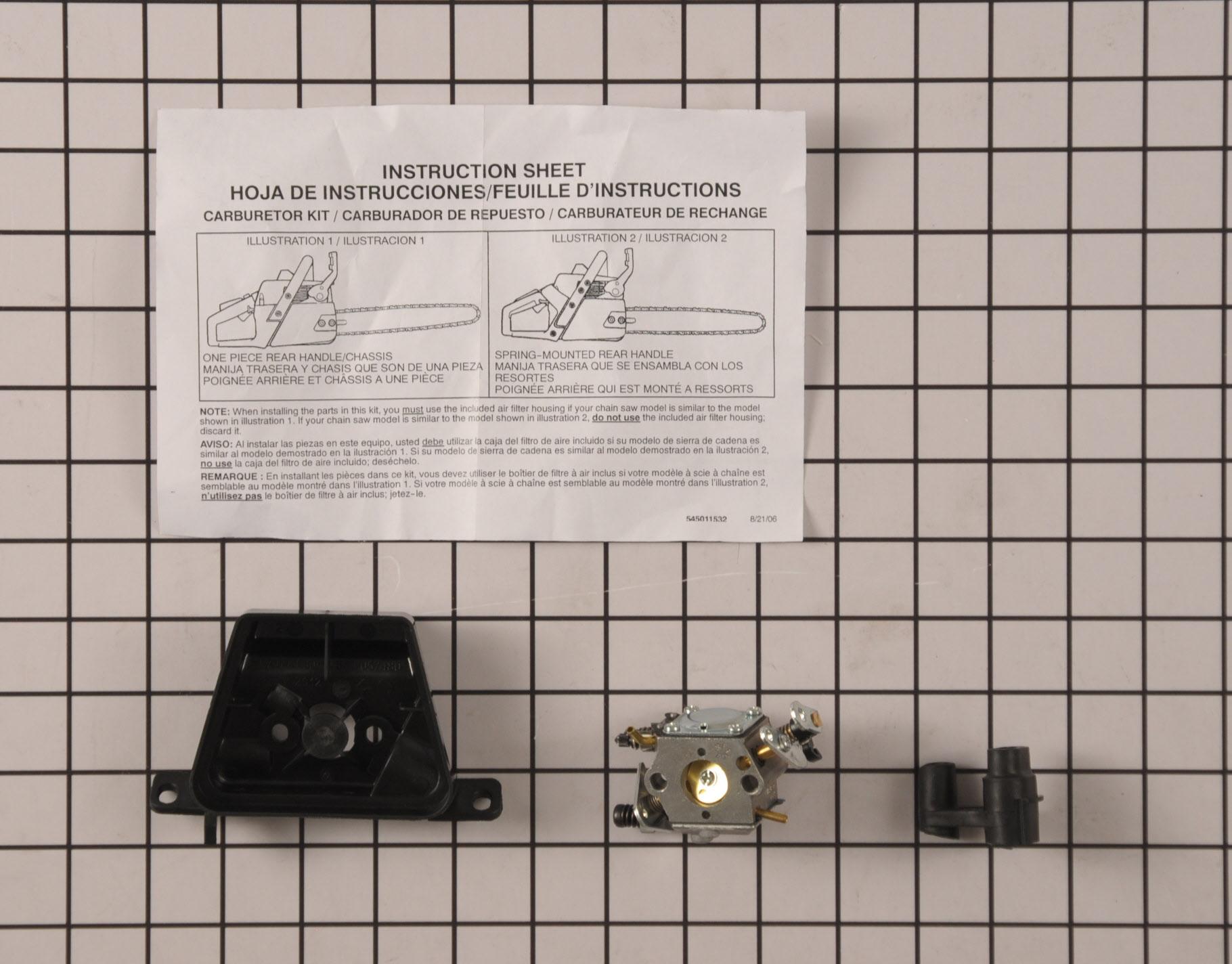 545081885 Poulan Pro Chainsaw Part -Carburetor