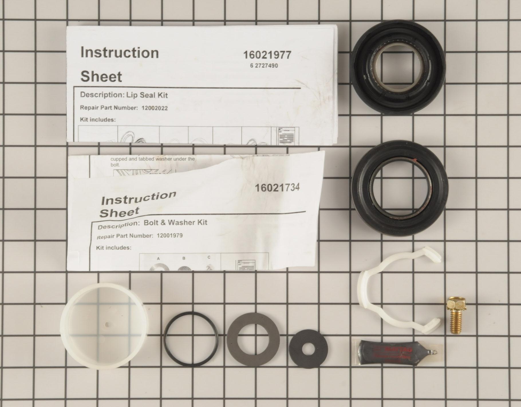 12002022 Crosley Washing Machine Part -Tub Seal