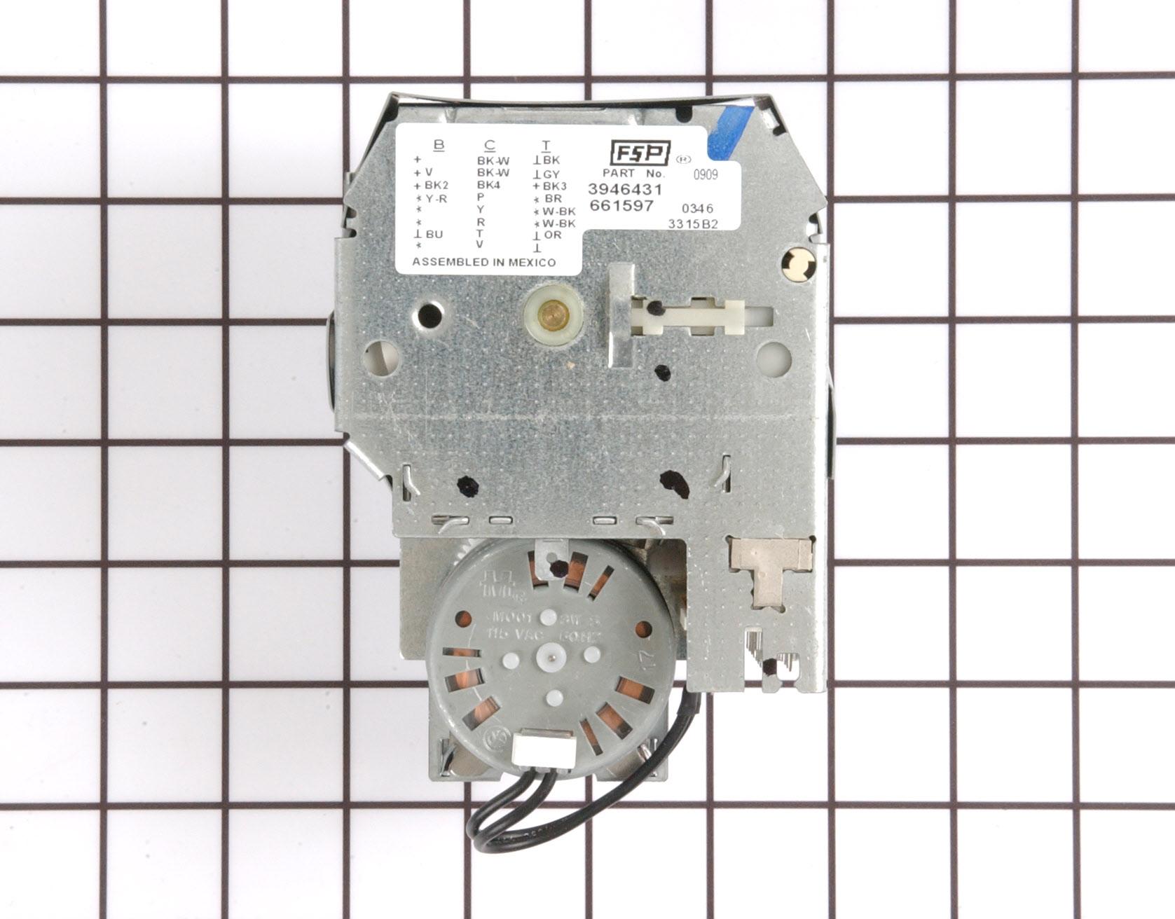 WP661597 Kenmore Washing Machine Part -Timer