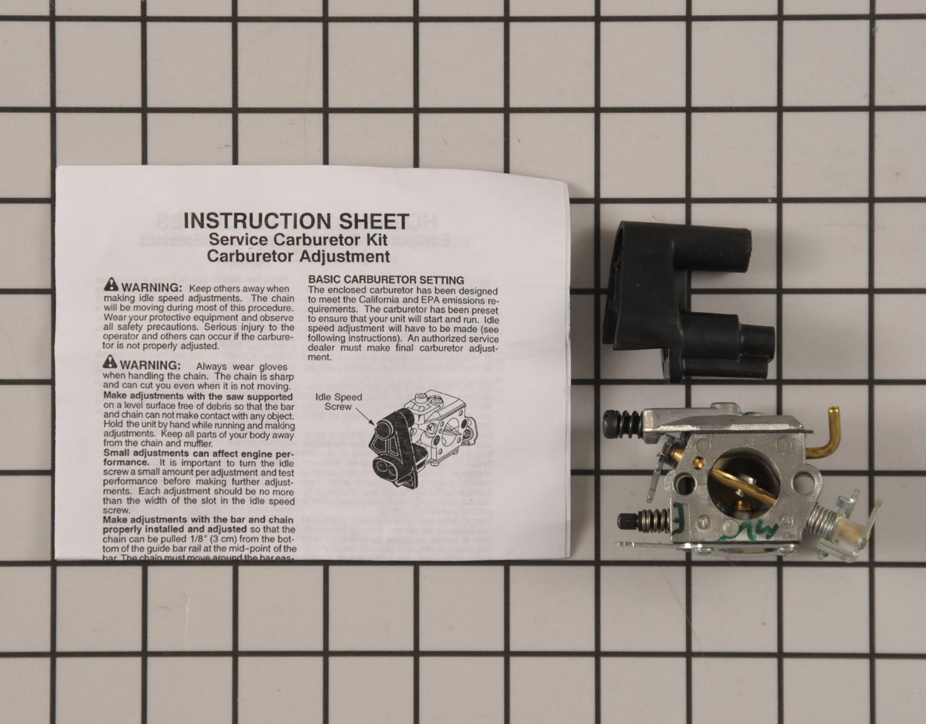 545013503 Poulan Pro Chainsaw Part -Carburetor