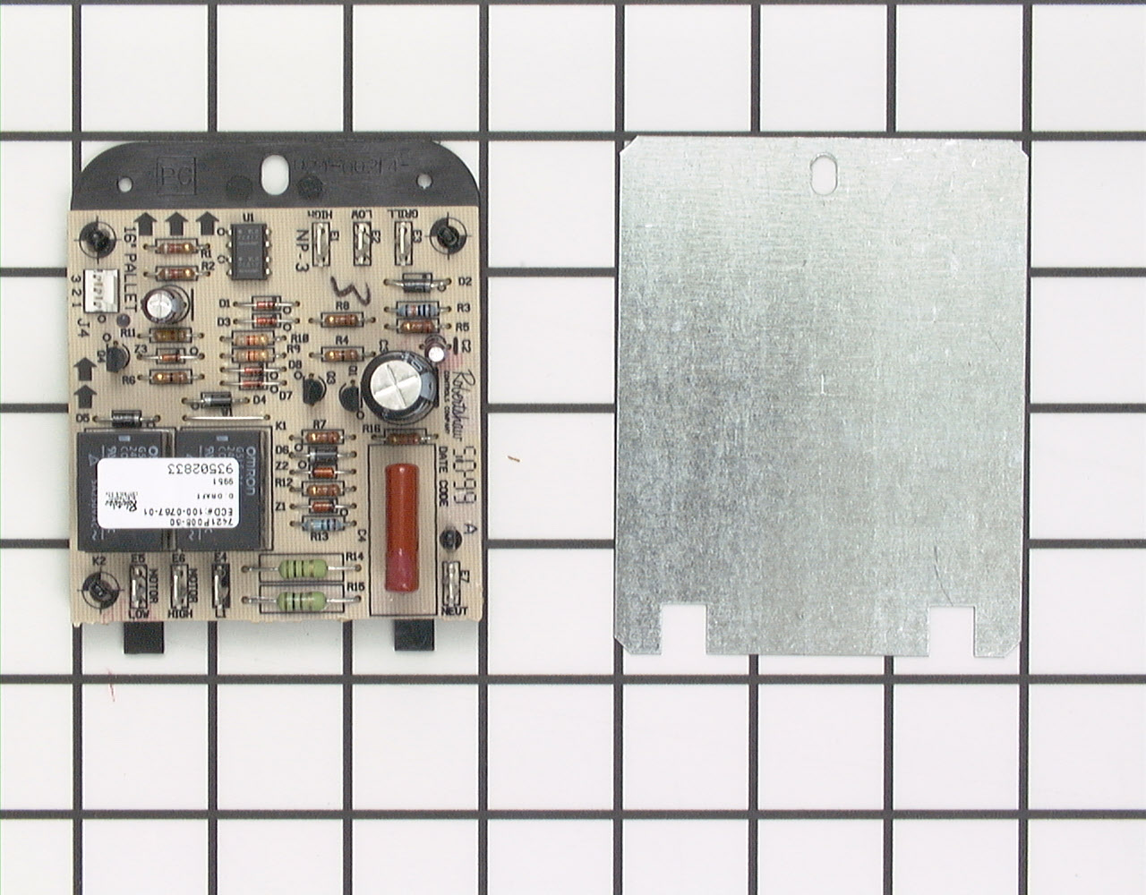 12001694 Jenn Air Range Stove Oven Part -Relay Board