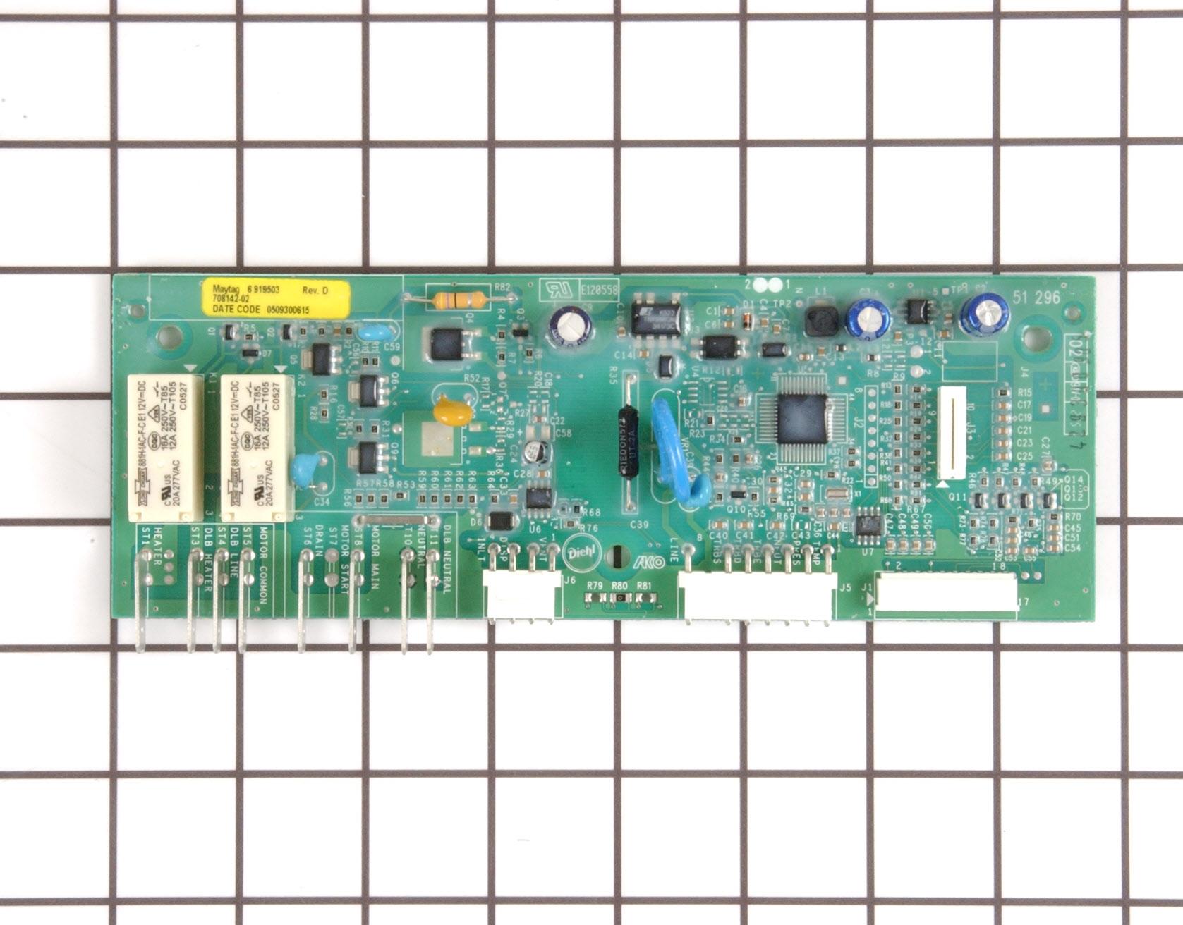 12002710 Jenn Air Dishwasher Part -Main Control Board