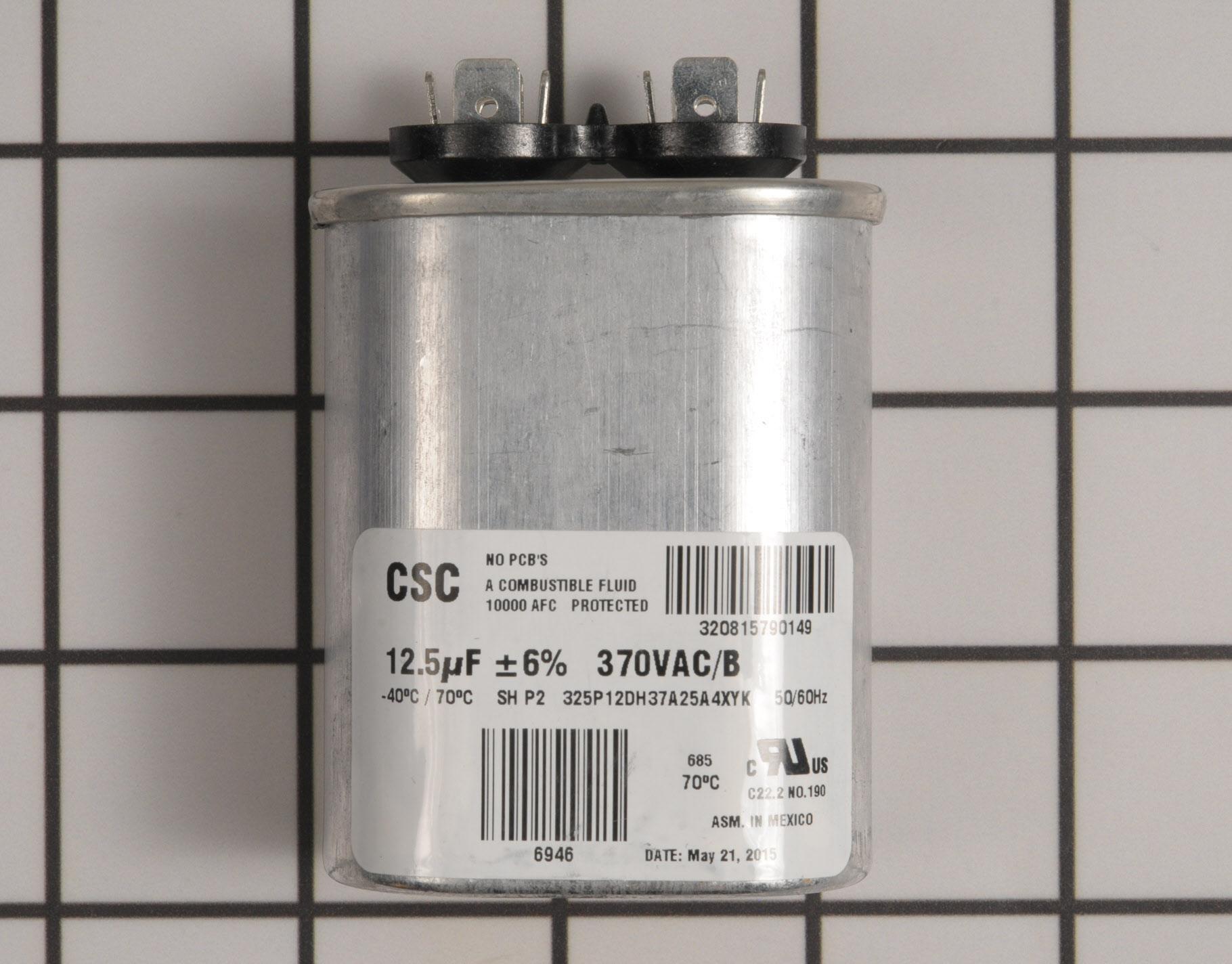 S1-02425899000 Mars Air Handler Part -Run Capacitor