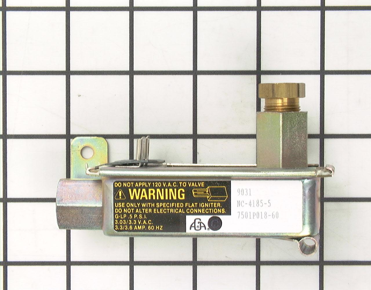 12002128 Hardwick Range Stove Oven Part -Safety Valve