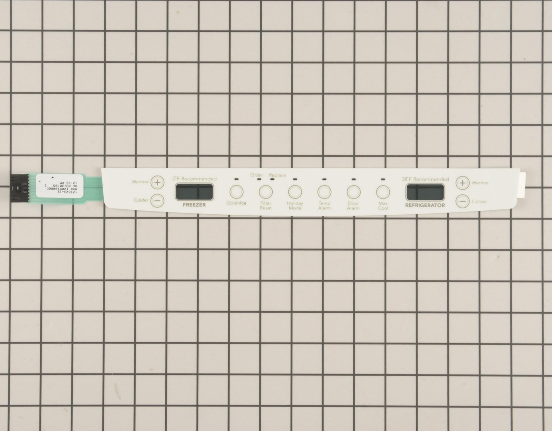 WP67005949 KitchenAid Refrigerator Part -Touchpad